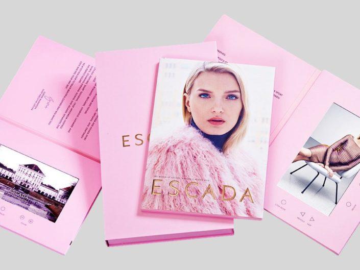 Haute Couture Look-Book Video Brochure