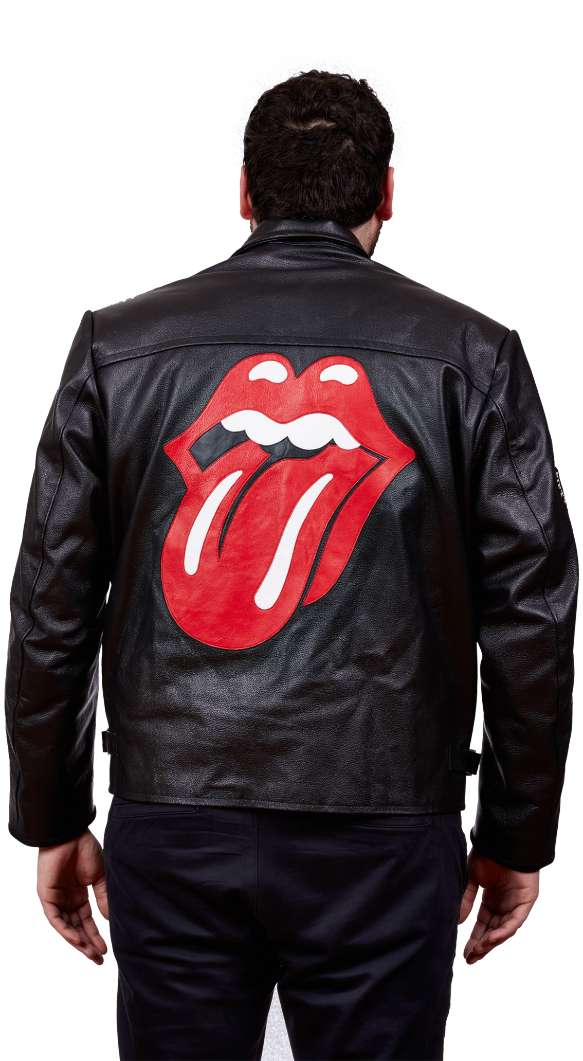 Leather Rock and Roll Band Tour Jacket