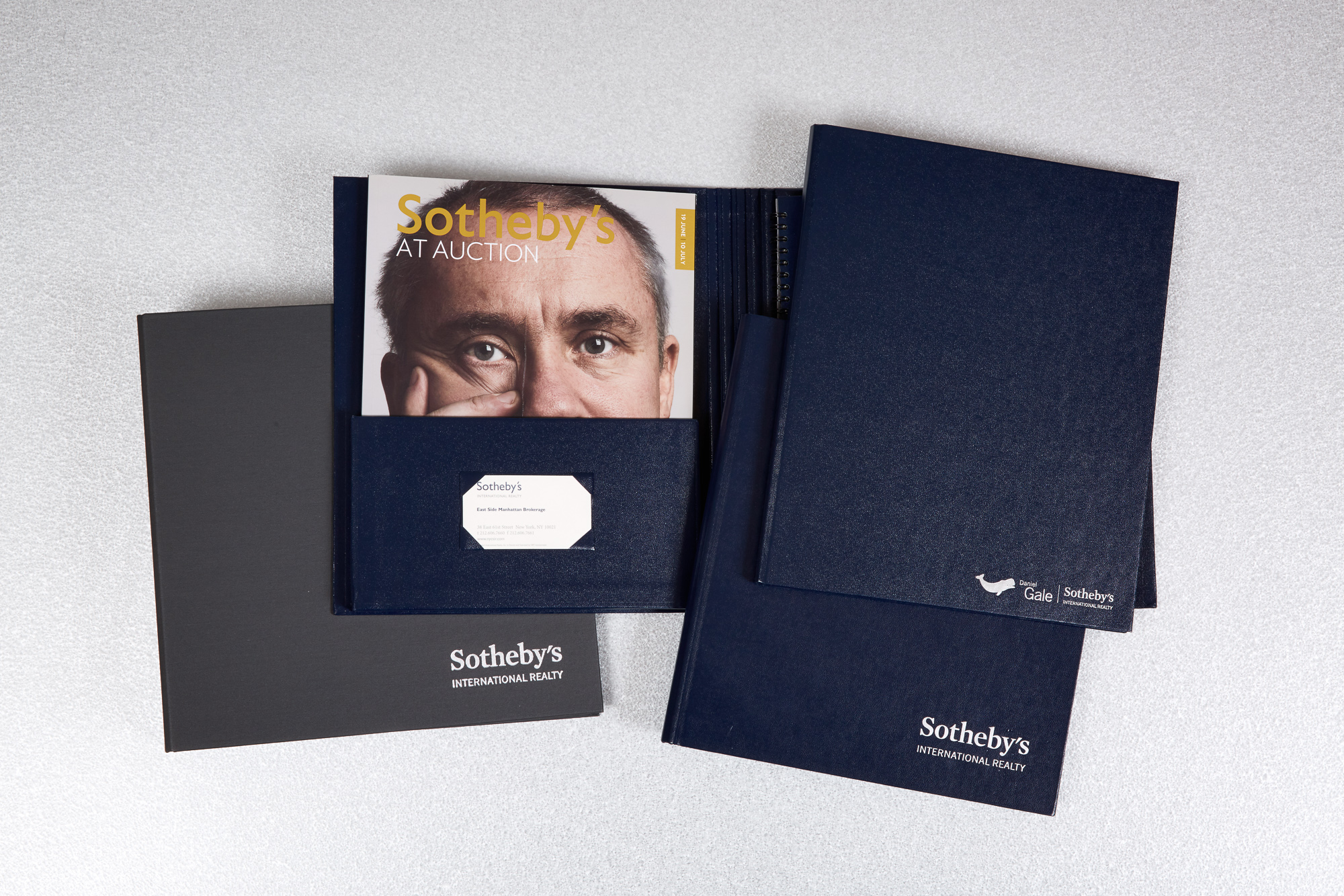 Bespoke Presentation Binders and Folders for Luxury Residential Real Estate Company
