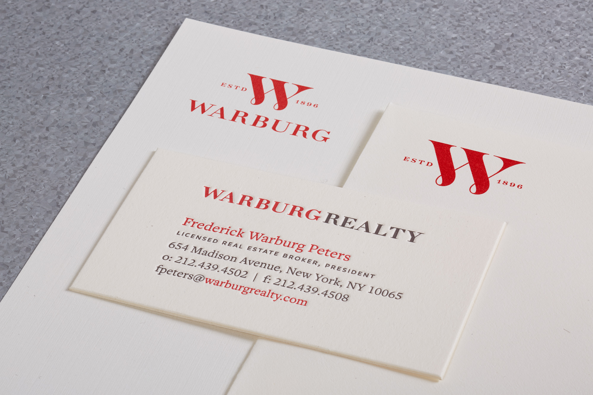 High-End Real Estate Companies Corporate Identity Stationery Ensemble