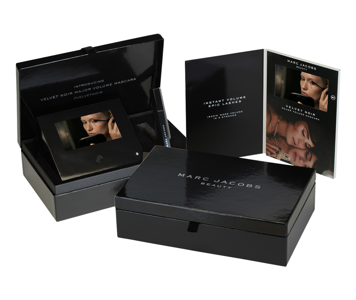 Cosmetic Product Launch In Video Presentation Box