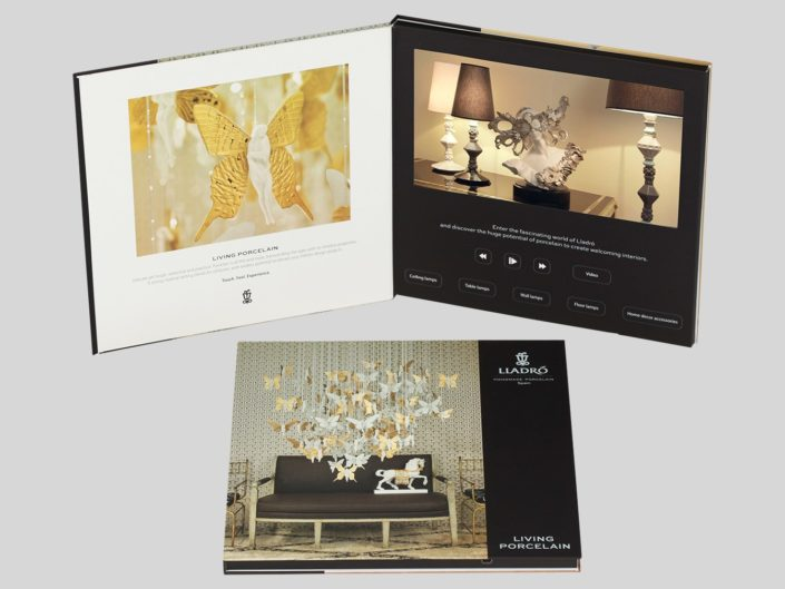 Video Brochure for Luxury Consumer Products Launch Featuring 5 Catalogs