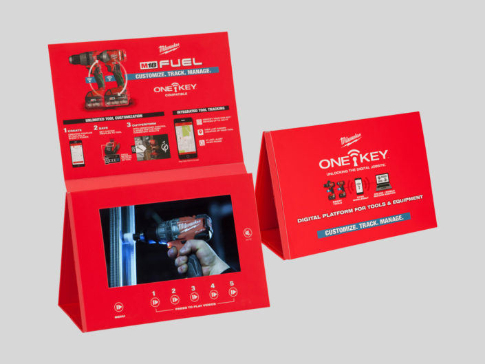 Industrial Tool MFG Video Brochure for Store display